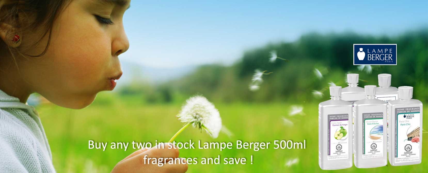 2 for $40 - lampe berger fragrences